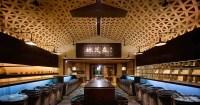 Ceiling Design Idea - A Woven Wood Drop Ceiling Creates A ...