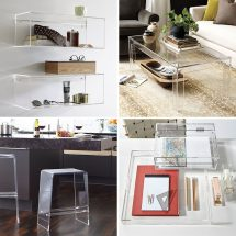 5 Ways Acrylic Decor House