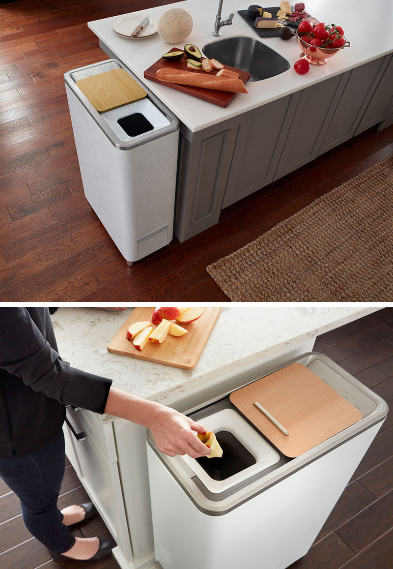 kitchen composter grohe faucet cartridge replacement this easy indoor compost system turns food scraps into fertilizer in 24 hours