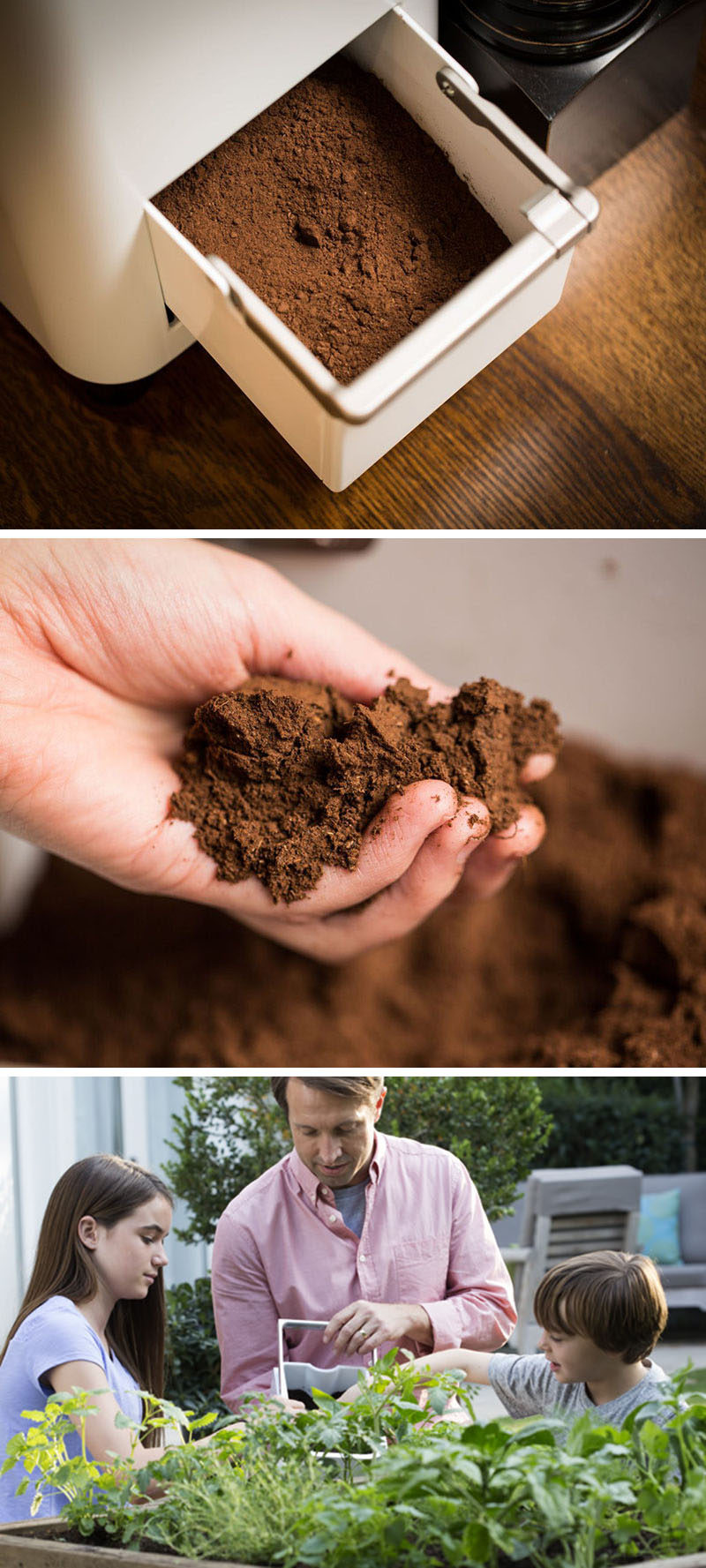 This easy indoor compost system turns food scraps into