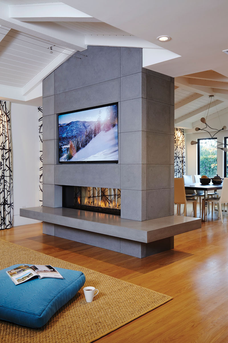 Opening up fireplace design possibilities with Ortals Cool Wall Technology  CONTEMPORIST