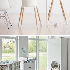 Age For High Chair Kids Comfy 14 Modern Chairs Children Contemporist A Simple White Seat And Beech Wood Legs