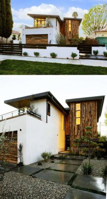 Modern House with Sloped Roof