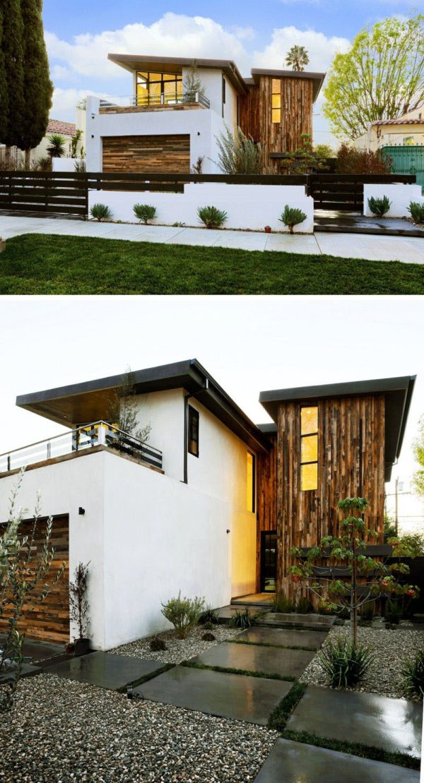 Examples Of Modern Houses With Sloped Roof Contemporist