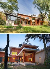 16 Examples Of Modern Houses With A Sloped Roof | CONTEMPORIST
