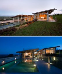 Modern Homes with Sloped Roofs