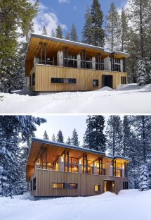 Examples Of Modern Houses With Sloped Roof