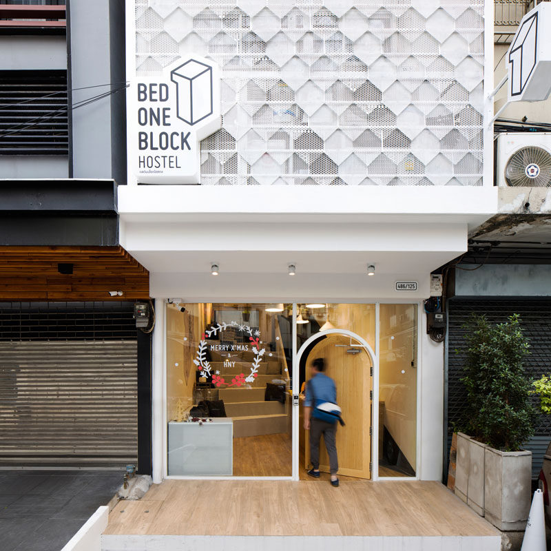 This Modern Hostel Design In Bangkok Thailand Brings A