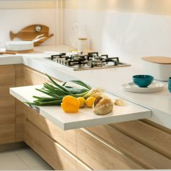 Kitchen Counter Wall Mount Faucet Lowes Design Idea Pull Out Counters Contemporist 10 Pictures When You