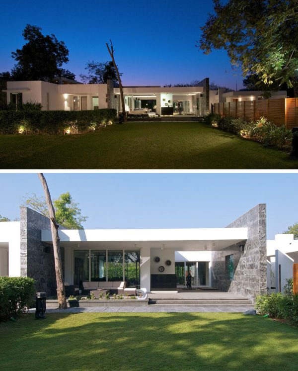 Examples Of Single Story Modern Houses