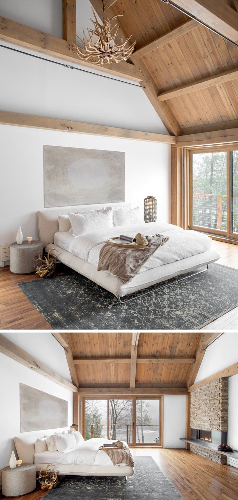 Bedroom Design Ideas This Cozy Barn Inspired Bedroom With Ensuite Has A Neutral Color Palette