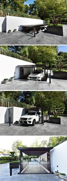 Underground Home Garage Parking