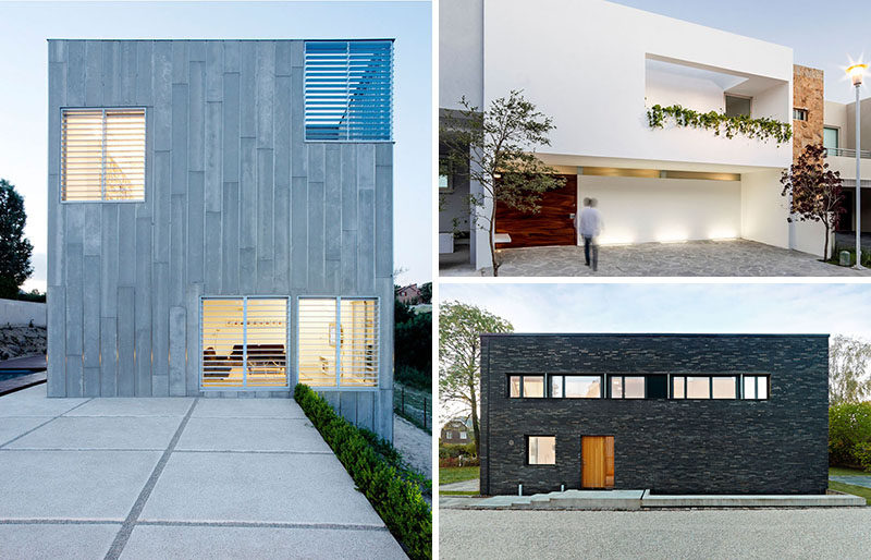 12 Minimalist Modern House Exteriors