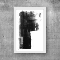 Wall Art Ideas - 14 Ideas For Black And White Abstract ...