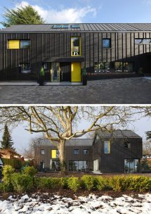 Black Modern House Exterior