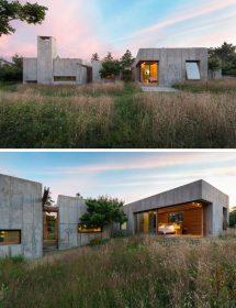 Modern Concrete House Exterior