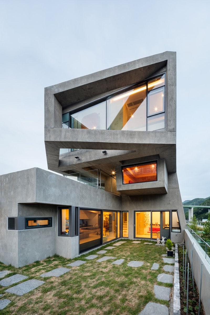 13 Modern House Exteriors Made From Concrete  CONTEMPORIST