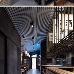Industrial Interior Design This Restaurant And Bar Goes For A Warehouse Chic Style With Metal Concrete And Wood