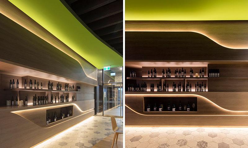 Interior Lighting Design Ideas  A wall of hidden LED