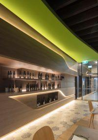 Interior Lighting Design Ideas - A wall of hidden LED ...