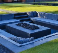 Backyard Design Idea - Create A Sunken Fire Pit For ...