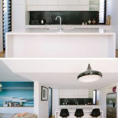White Kitchen Backsplash Greenery Above Cabinets Design Ideas 9 For A Create Bit Of Contrast In Your With Super Dark Black Tile Is An Easy Way To Do This But The Look Can Also Be Achieved