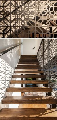 11 Creative Stair Railings That Are A Focal Point In These ...
