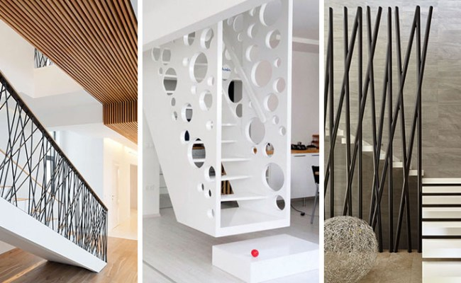 11 Creative Stair Railings That Are A Focal Point In These