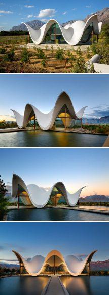 Sculptural Design Of Chapel Emulates