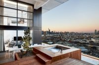 This Balcony With Views Of Brooklyn Was Designed For ...