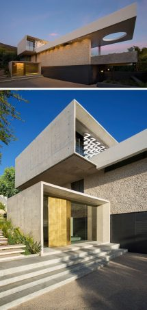 Concrete House Designed With Amazing Views