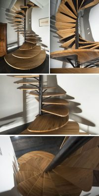 16 Modern Spiral Staircases Found In Homes Around The ...