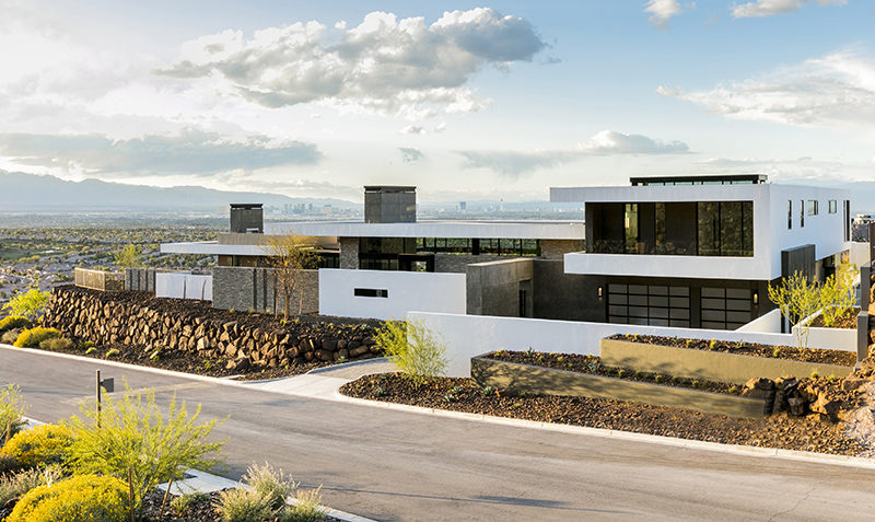 SB Architects Have Designed A New House On A Hillside ...
