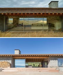 Mountain House Designed Combination Of