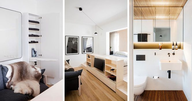 Architect Prineas Have Designed This Tiny Apartment In Sydney Australia That Fits Everything Into