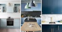 Dark Blue Kitchen Walls