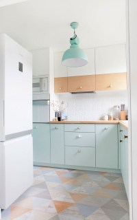 Kitchen Color Inspiration - 12 Shades Of Blue Cabinets ...