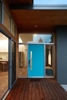 Modern Front Door Entrance