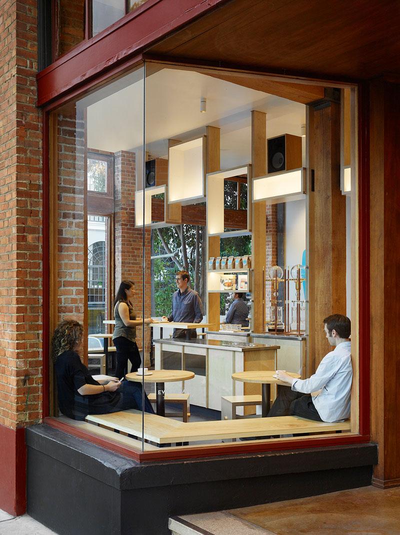 Bohlin Cywinski Jackson Have Designed A New Coffee Shop In