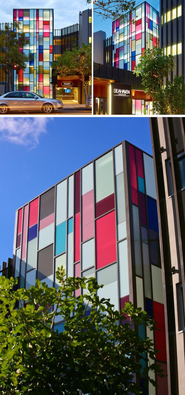 Examples Of Colored Glass In Modern Architecture
