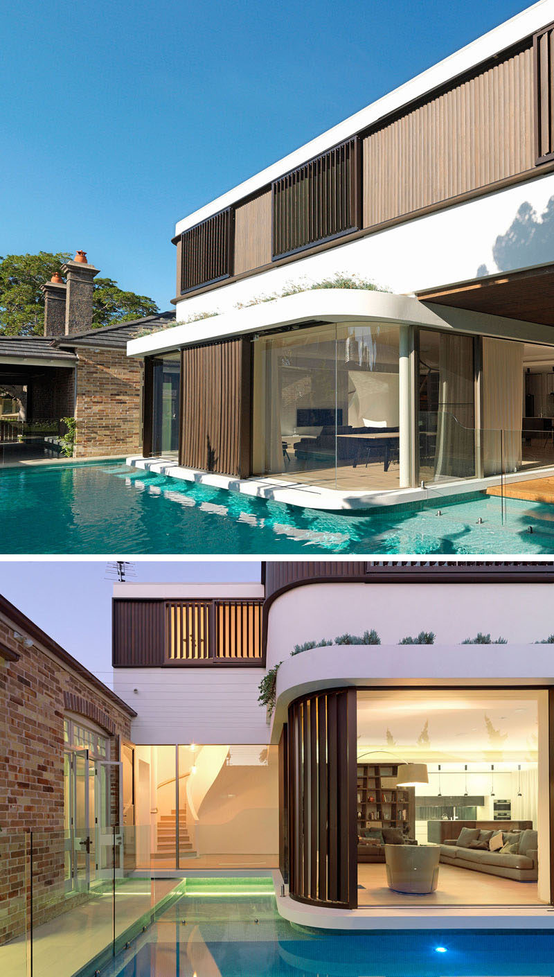 A Modern Extension With A Cantilever Was Added To This 1910 Brick Cottage CONTEMPORIST