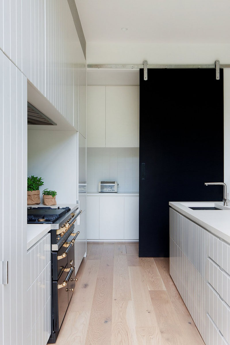 10 Examples Of Barn Doors In Contemporary Kitchens Bedrooms and Bathrooms  CONTEMPORIST
