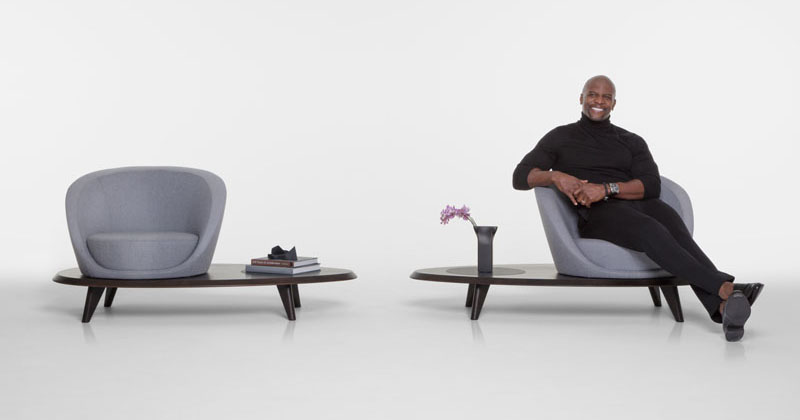 small sofa set images half actor terry crews has teamed up with bernhardt design to ...
