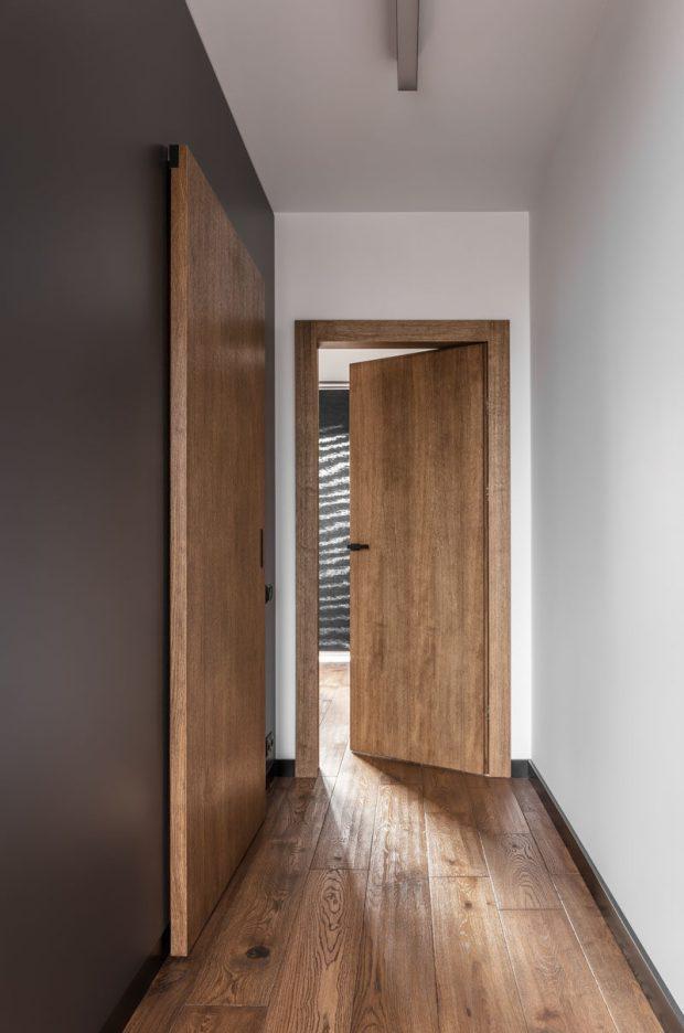 Interior Sliding Wood Doors Home Design Ideas