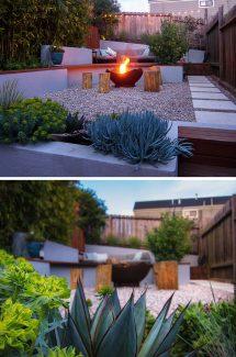 Small Backyard In San Francisco Designed