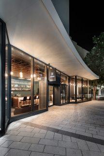 Bar In Stuttgart Walls Of Glass Show