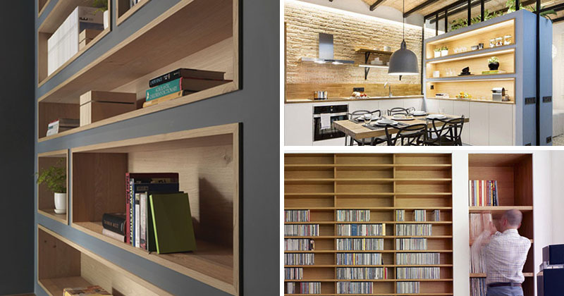 8 Inspirational Examples Of BuiltIn Shelves Lined With