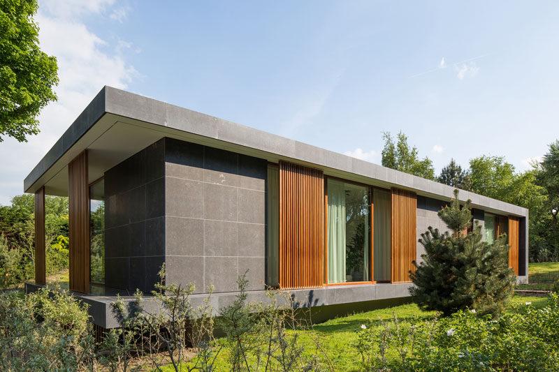 BERG  KLEIN Have Designed A New Modern Villa In The