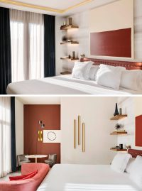 Bedroom Design Idea - Replace A Bedside Table And Lamp ...