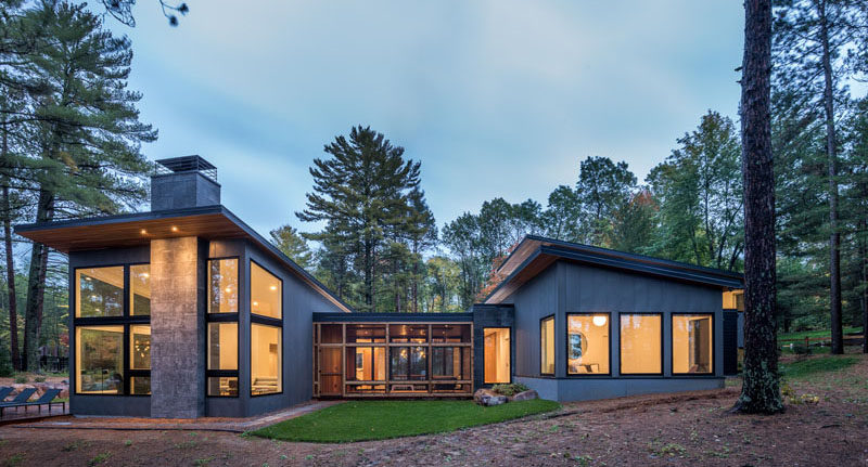 Northern Minnesota Lake House By Strand Design